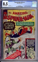 Amazing Spider-Man #14 CGC 8.5 ow/w