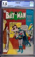 Batman #87 CGC 7.5 ow/w