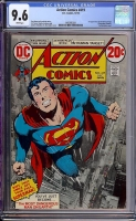 Action Comics #419 CGC 9.6 w