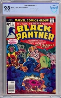 Black Panther #1 CBCS 9.8 ow/w Newsstand Edition