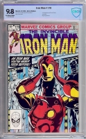 Iron Man #170 CBCS 9.8 ow/w Direct Edition