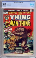 Marvel Two-In-One #1 CBCS 9.0 ow/w