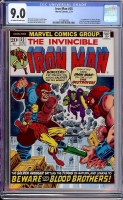 Iron Man #55 CGC 9.0 ow/w