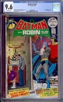 Batman #239 CGC 9.6 ow