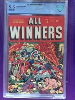 All Winners Comics #12 CBCS 5.5 ow/w