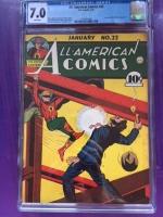All-American Comics #22 CGC 7.0 w