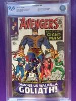 Avengers #28 CBCS 9.6 w