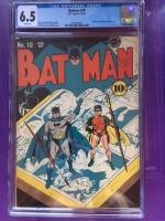 Batman #10 CGC 6.5 w