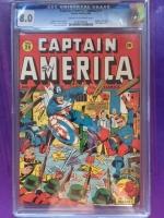 Captain America Comics #29 CGC 8.0 cr/ow
