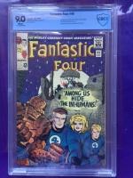 Fantastic Four #45 CBCS 9.0 w