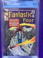 Fantastic Four #47 CBCS 9.6 w