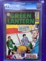 Green Lantern #17 CGC 9.2 cr/ow