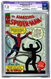 Amazing Spider-Man #3 CGC 7.0ow/w