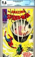 Amazing Spider-Man #61 CGC 9.6 w