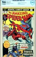 Amazing Spider-Man #134 CBCS 9.6 ow/w