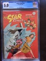 All Star Comics #39 CGC 5.0 ow/w
