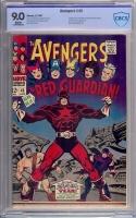 Avengers #43 CBCS 9.0 w
