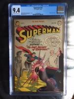 Superman #74 CGC 9.4 ow/w