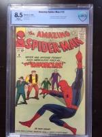 Amazing Spider-Man #10 CBCS 8.5 w