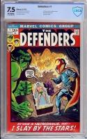 Defenders #1 CBCS 7.5 ow