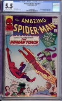Amazing Spider-Man #17 CGC 5.5 ow/w