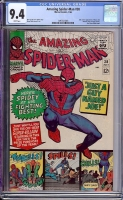 Amazing Spider-Man #38 CGC 9.4 w