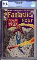 Fantastic Four #47 CGC 9.4 w