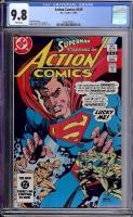 Action Comics #549 CGC 9.8 w
