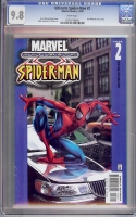 Ultimate Spider-Man #2 CGC 9.8 w