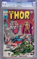 Thor #190 CGC 9.6 ow/w