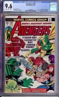 Avengers #130 CGC 9.6 ow/w