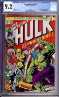 Incredible Hulk #181 CGC 9.2 w