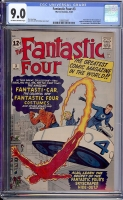 Fantastic Four #3 CGC 9.0 ow/w