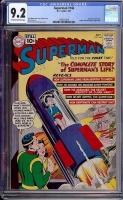 Superman #146 CGC 9.2 ow/w