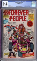 Forever People #1 CGC 9.4 ow/w