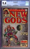 New Gods #1 CGC 9.4 ow/w
