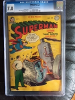 Superman #73 CGC 7.0 cr/ow