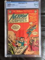 Action Comics #185 CBCS 3.5 ow/w
