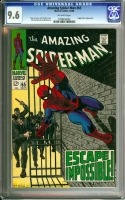 Amazing Spider-Man #65 CGC 9.6 ow