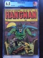 Hangman Comics #7 CGC 6.5 cr/ow