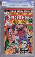 Marvel Team-Up #43 CGC 9.8 ow/w