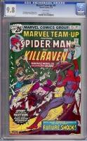 Marvel Team-Up #45 CGC 9.8 w