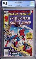 Marvel Team-Up #58 CGC 9.8 w