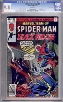 Marvel Team-Up #82 CGC 9.8 w Western Penn