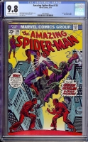 Amazing Spider-Man #136 CGC 9.8 ow/w