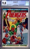 Avengers #96 CGC 9.8 ow/w