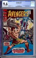 Avengers #39 CGC 9.6 ow/w