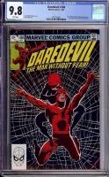 Daredevil #188 CGC 9.8 w