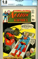 Action Comics #387 CGC 9.8 ow/w