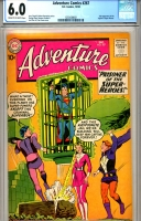 Adventure Comics #267 CGC 6.0 cr/ow